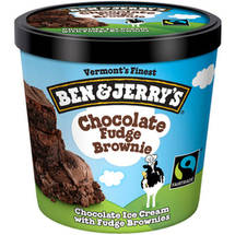 Ben & Jerry's Chocolate Fudge Brownie Ice Cream Single Serving