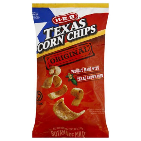H-E-B Original Texas Corn Chips