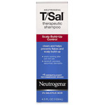 Neutrogena Scalp Build-Up Control T/Sal Therapeutic Shampoo 4.5 Fl Oz