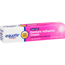 Equate Super Hold Denture Adhesive Cream
