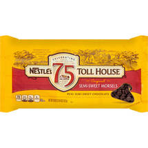 Nestle Toll House Semi-Sweet Morsels Baking Chocolate Chips