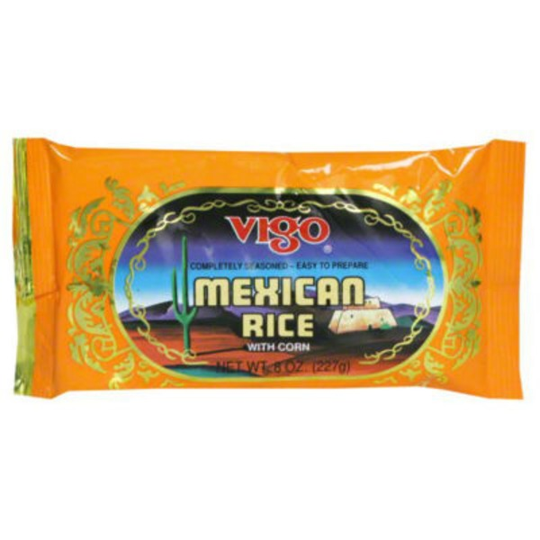 Vigo Mexican Rice, with Corn, Authentic