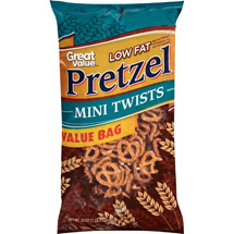 Great Value Low Fat Pretzel Tiny Twists