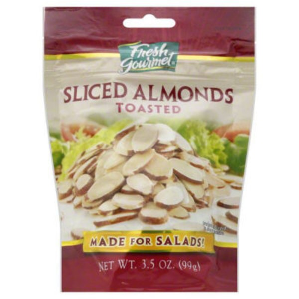 Fresh Gourmet Toasted Sliced Almonds