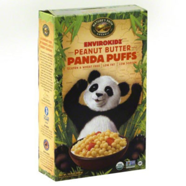 Nature's Path Organic Panda Puffs Peanut Butter