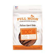 Full Moon Chicken and Sweet Potato Dog Treats