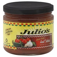 Julios Homestyle Hot Salsa