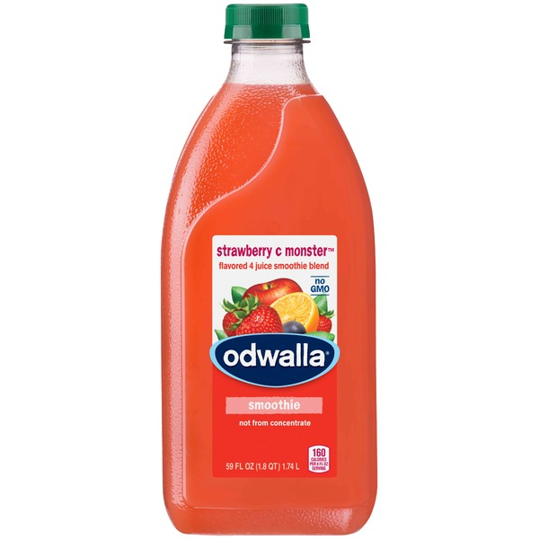 Odwalla Strawberry C Monster Fruit Smoothie Blend