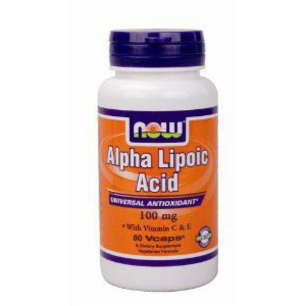 Now Alpha Lipoic Acid 100mg