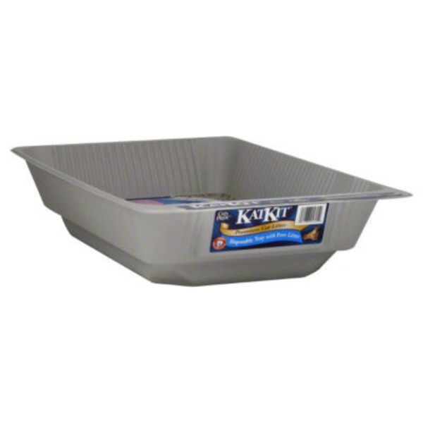 Cat's Pride KatKit All-In-One Disposable with Litter Cat Litter Tray