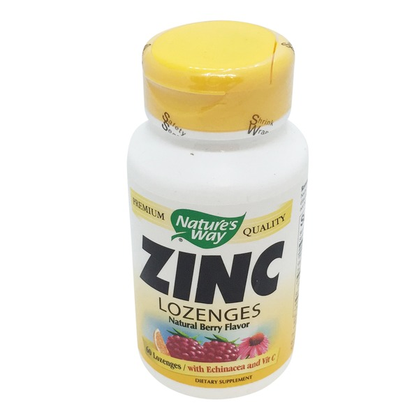 Nature's Way Berry Flavor Zinc Lozenges