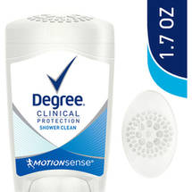 Degree Clinical Protection Shower Clean Anti-Perspirant And Deodorant Degree Women