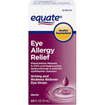 Equate Sterile Eye Allergy Relief Itching & Redness Reliever Eye Drops