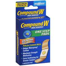 Compound W: Maximum Strength One Step Pads Wart Remover