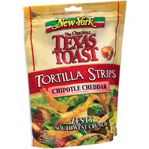 New York Zesty Southwest Crunch Chipotle Cheddar Flavored Tortilla Strips