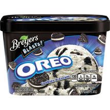 Breyers Cookies & Cream w/Oreo Co-Brands