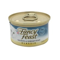 Fancy Feast Wet Classic Salmon & Shrimp Feast Cat Food