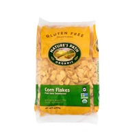Nature's Path Organic Gluten Free Selections Cereal Corn Flakes Fruit Juice Sweetened