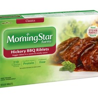 Morning Star Farms Veggie Classics Hickory BBQ Veggie Riblets