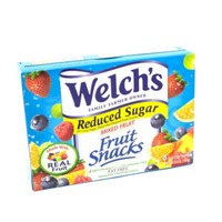 Welch's Fruit Snacks Reduced Sugar Mixed Fruit Fruit Snacks