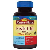 Nature Made Fish Oil Dietary Supplement Softgels