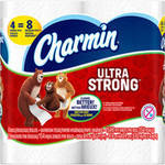 Charmin Ultra Strong Toilet Paper Double Rolls