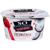 So Delicious Dairy Free Coconut Milk Strawberry Yogurt Alternative