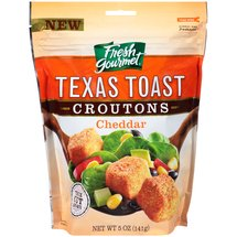 Fresh Gourmet Texas Toast Cheddar Croutons