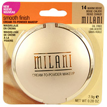 Milani Smooth Finish Cream-to-Powder Makeup 14 Warm Beige