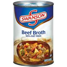 Swanson 99% Fat Free Beef Broth