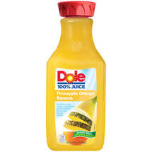 Dole 100% Pineapple Orange Banana Juice