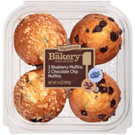 The Bakery Blueberry & Chocolate Chip Muffin Variety Pack