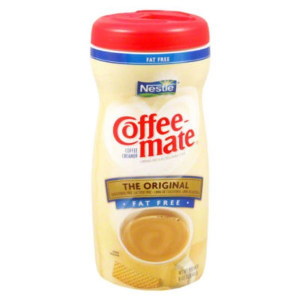 Nestlé Coffee Mate Original Fat Free Powder Coffee Creamer