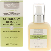 Equate Beauty Strikingly Unique Moisturizing Lotion