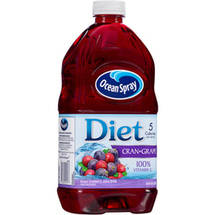 Ocean Spray Diet Cranberry Grape Spray Juice