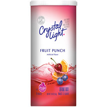 Crystal Light Sugar Free Fruit Punch Drink Mix