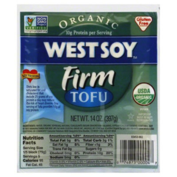 West Soy Tofu, Firm