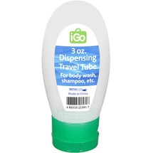 iGo Blue 3 Oz Dispensing Travel Tube