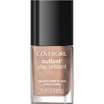 CoverGirl Outlast Stay Brilliant Nail Gloss 30 Daisy Bloom