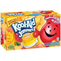 Kool-Aid Jammers Peach Mango Juice Drinks