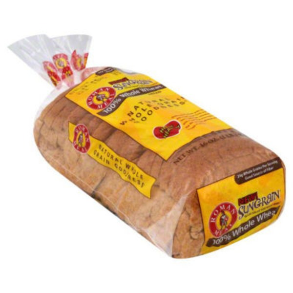 Roman Meal Sungrain 100% Whole Wheat Bread