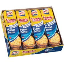 Lance Toasty Real Peanut Butter Sandwich Crackers
