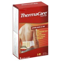 ThermaCare S-M Size Lower Back & Hip Pain Therapy Heatwraps