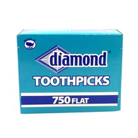 Diamond G Flat Toothpicks