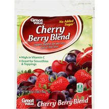 Great Value Cherry Berry Blend