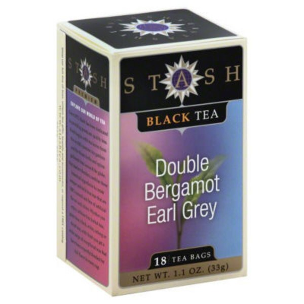 Stash Tea Double Bergamot Earl Grey Black Tea Bags