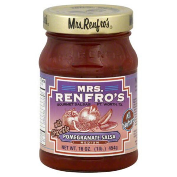Mrs. Renfro's Gourmet Salsas Pomegranate Salsa With Chipotle Medium