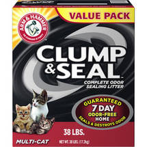 Arm and Hammer Clump and Seal Multi-Cat Litter