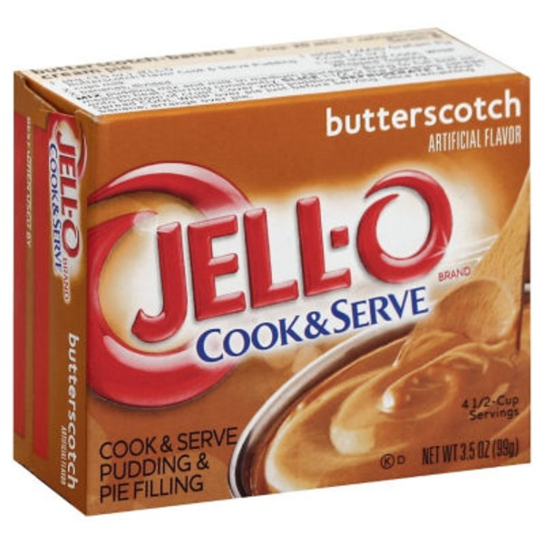 Jell-O Butterscotch Cook & Serve Pudding & Pie Filling Mix