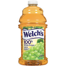 Welch's Bottled 100% White Grape Juice